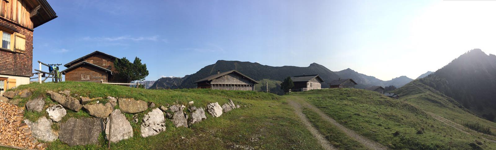 Ausklang Gamp - Panorama