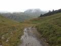 Aufstieg Biberacher Hütte